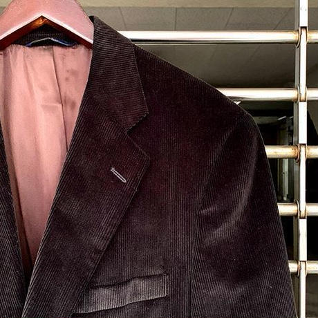 """Brooks Brothers"" Corduroy Tailored Jacket Dead Stock SIZE : M位"