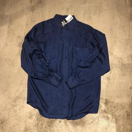"""Alvin"" Silk Shirt Dead Stock SIZE : L"