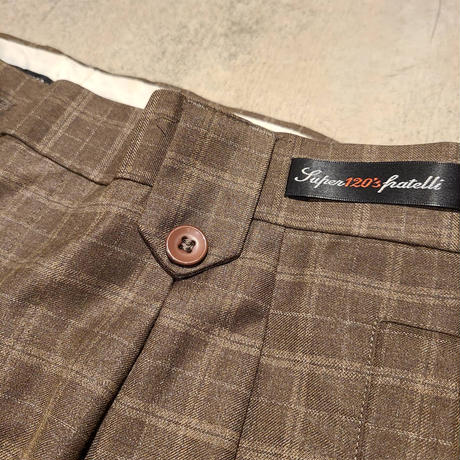 """INSERCH"" Check Slacks SIZE : W32 L30"