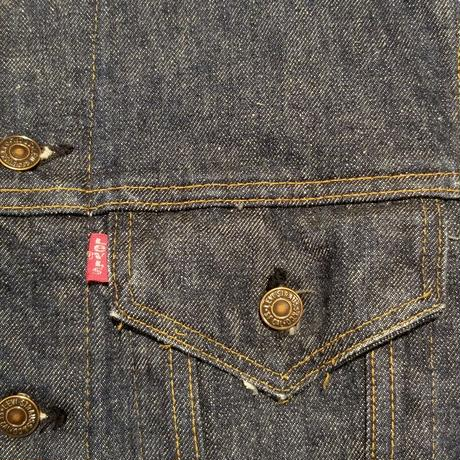"1970's ""Levi's"" 70505-0217 Denim Track Jacket SIZE : 38"