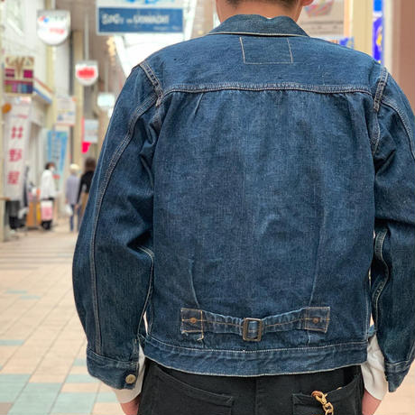 """~1950's """"LEVI'S"""" 506XX  SIZE : about 34"""