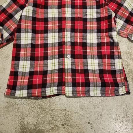 "1960's ""Big Yank"" Print Flannel Shirt SIZE : M位"