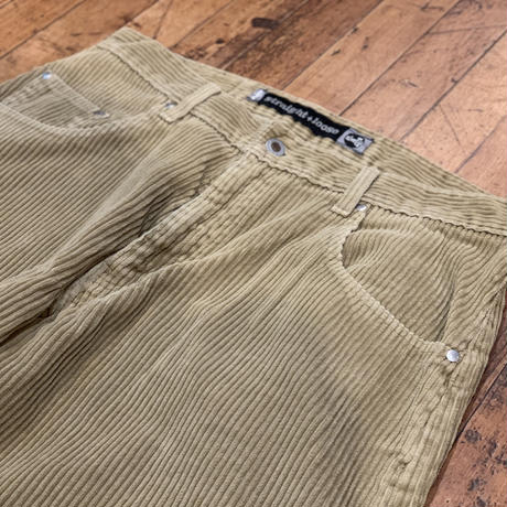 """1990's """"Levi's"""" Silver Tab Corduroy Pants (straight+loose) SIZE : W33 L33"""