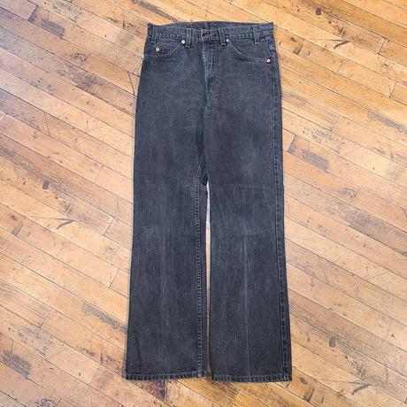 "1990's ""Levi's"" 517 Black SIZE : W32 L31"