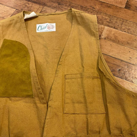 """1970's """"Chief"""" Hunting Vest SIZE : M"""