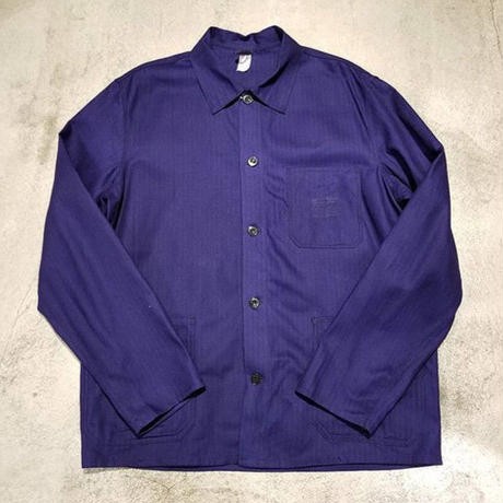 """Unknown"" German Work Jacket Dead Stock SIZE : L位"
