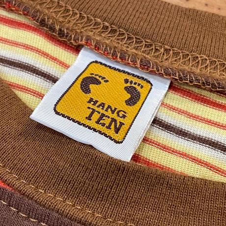 """""""HANG TEN"""" Short Sleeve Tee SIZE : M"""