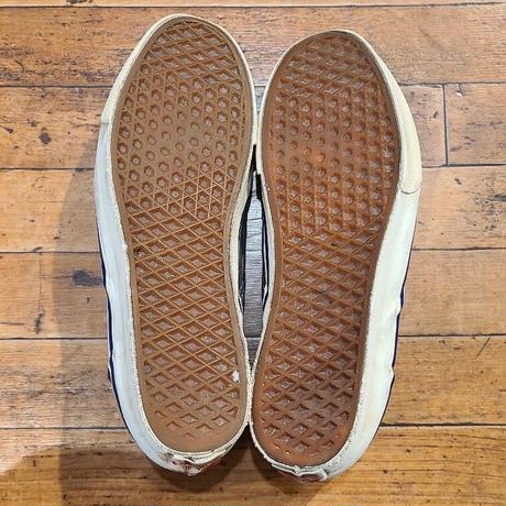 """1980's """"VANS"""" Slip on Made in USA SIZE : 10"""