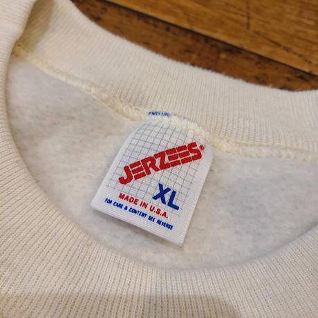 """1990's """"JERZEES"""" Sweat Dead Stock SIZE : XL"""