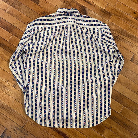 "1990's ""Tommy Hilfiger"" Button Down Long Sleeve Shirt SIZE : L"
