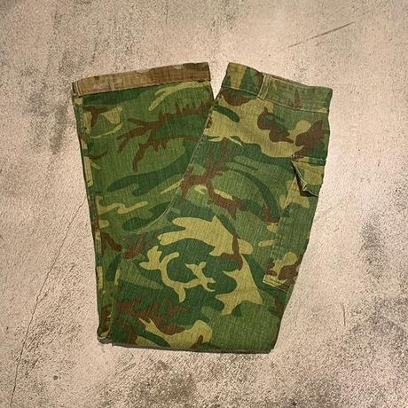 "1980's ""Unknown"" Reversible Hunting Pants SIZE : W36 L27"