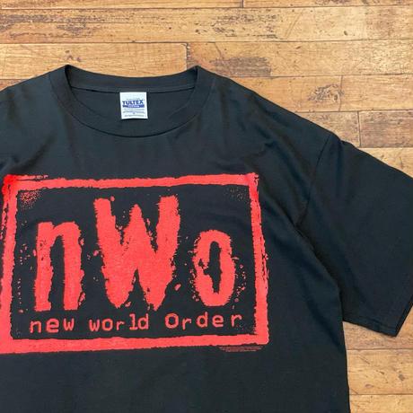 "1990's ""New World Order"" Short Sleeve Tee SIZE : XL"