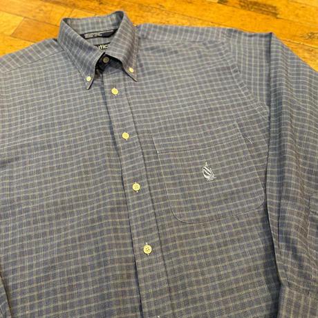 """Nautica"" Cotton Shirts SIZE : L"