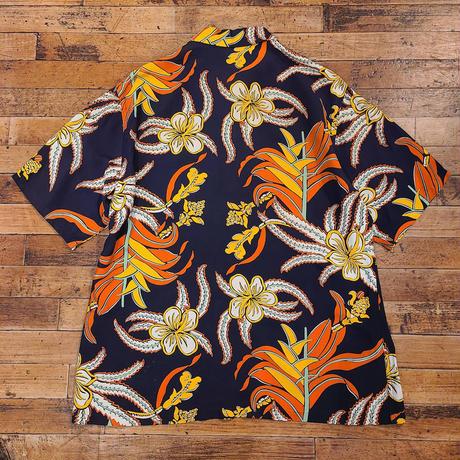 "1940's ""Mc GREGOR"" Hawaiian Shirts SIZE : M~L"