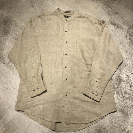 """Rovert Stock"" Cotton Linen Shirts SIZE : L"