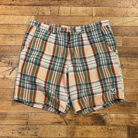 "1980's~ ""Life's A Beach"" Short Pants SIZE : W37"