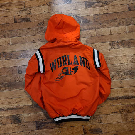 "1990's ""champion"" Half Zip Nylon Jacket SIZE : S"