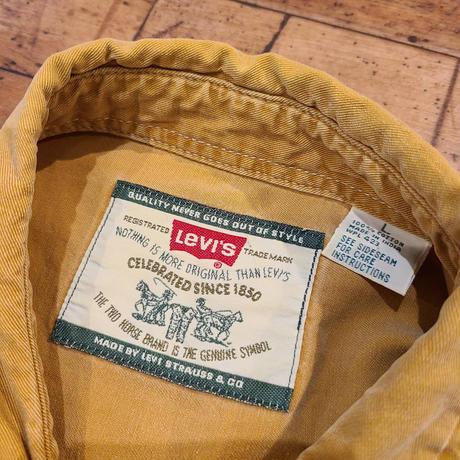 """1990's """"Levi's"""" Cotton S/S Shirt SIZE : XL"""