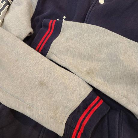 "2000's ""STUSSY"" Sweat Award Jacket SIZE : L"