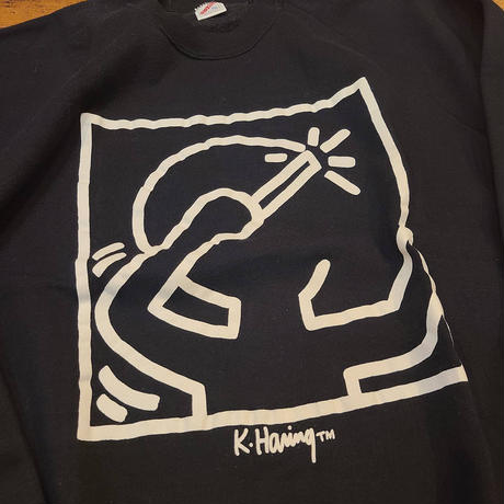 "1990's ""Kieth Haring"" Sweat SIZE : XL"