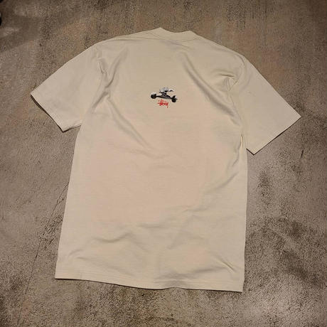 "2000's ""STUSSY"" S/S Tee Made in USA SIZE : L"