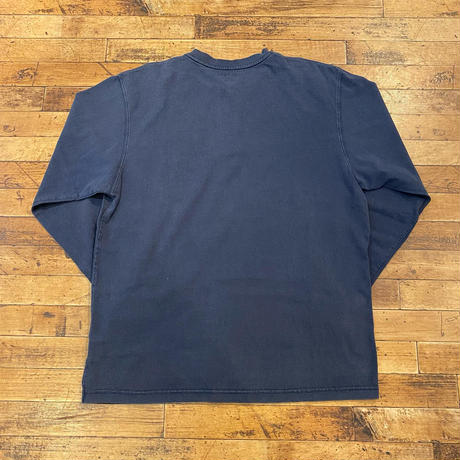 """Carhartt"" L/S Henry Neck Tee SIZE : L"