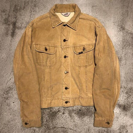 "1970's ""Lee""  101 Type Cotton Frannel Jacket SIZE : L位"