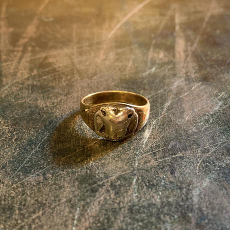 "1940's ""Freemasonry"" 32nd degree 14K Ring SIZE : 10号"