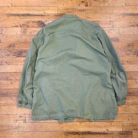 "1960's ""U.S.Army"" Jungle Fatigue Jacket SIZE : LARGE-LONG"
