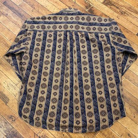 """1990's """"CHAPS RALPH LAUREN""""  Buttondown Shirt SIZE : XL"""