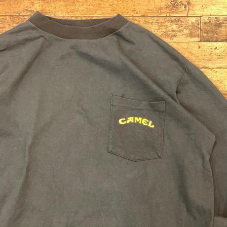 """1990's """"CAMEL"""" Long Sleeve Pocket Tee SIZE : XL"""