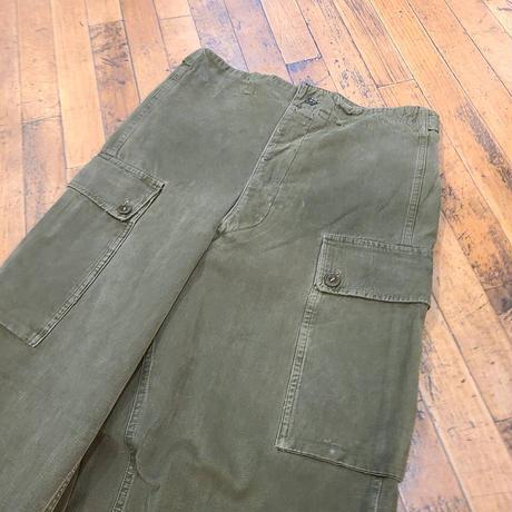 """1950's """"Dutch Army"""" Cargo Pants SIZE : W32 L30"""