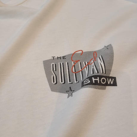 "~1990's ""The Ed Sullivan Show"" Short Sleeve Tee SIZE : L"