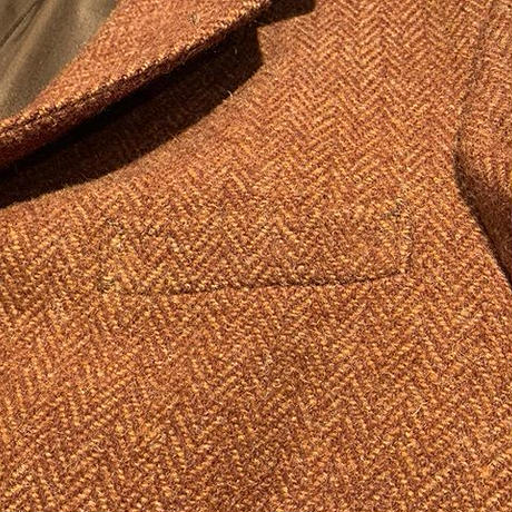 "1950's ""Esquire Ltd"" Harris Tweed Tailored Jacket SIZE : L位"
