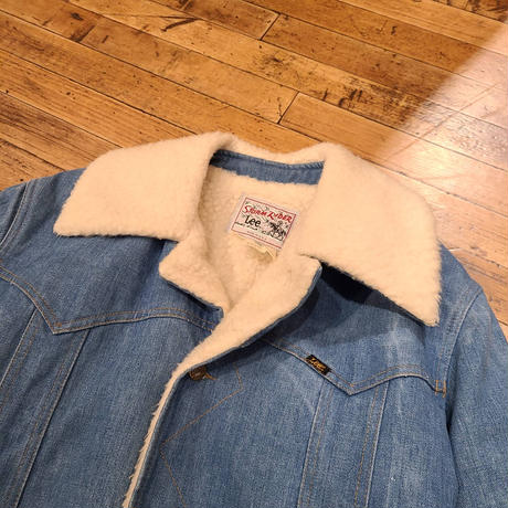 "1970's ""Lee"" Storm Rider Boa Coat SIZE : Medium-Reguler"
