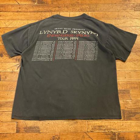 "1990's ""Lynyrd Skynyrd"" Short Sleeve Tee SIZE : L"