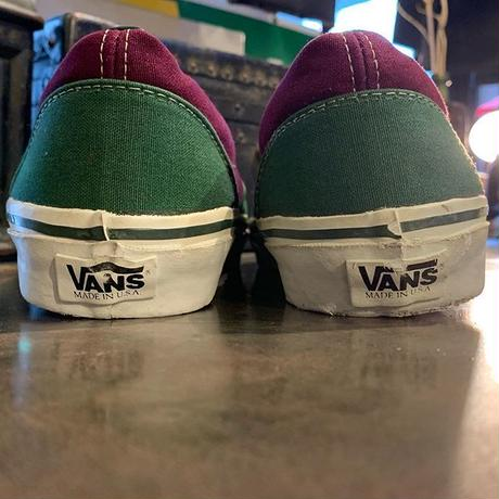 """1980's """"Vans"""" Era SIZE : 11 1/2"""