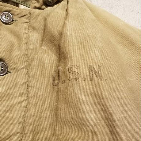 "1940's ""U.S.Navy"" Type N-1 Deck jacket SIZE : 40"