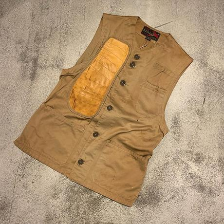 "1960's ""Sears - Roebuck 10-X"" Hunting Vest SIZE : 40"