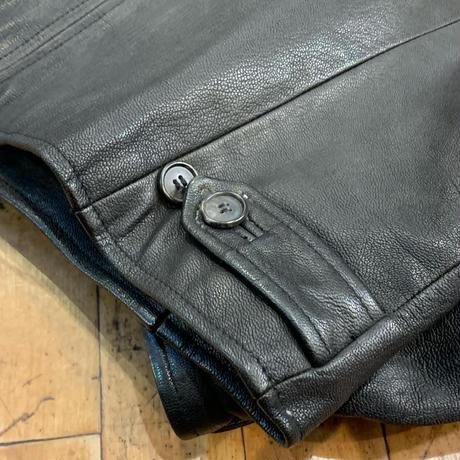 "1980's ""J.CREW"" Leather Jacket SIZE : M"