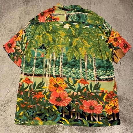 """~1990's """"JAMS WORLD"""" Hawaiian Shirt SIZE : L"""