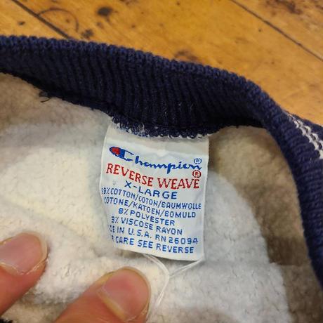 "1990's ""champion"" Reverse Weave  SIZE : XL"