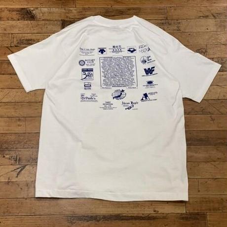 "~1990's ""TIGER SHARKS"" Short Sleeve Tee SIZE : XL"