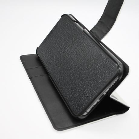 手帳型スマートフォンケース(モノトーンブロック)