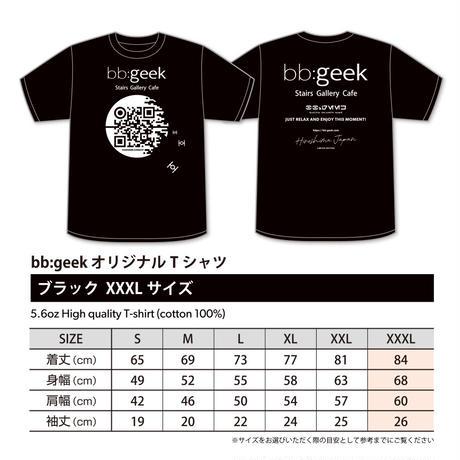 bb:geek オリジナルTシャツ ブラック XXXL