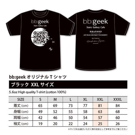 bb:geek オリジナルTシャツ ブラック XXL