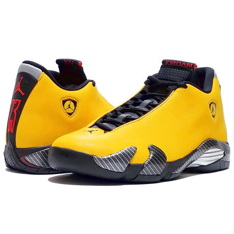 "NIKE AIR JORDAN 14 RETRO SE ""FERRARI-UNIVERSITY GOLD"" (BQ3685 706)"
