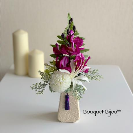 ●お供え花【モダン 仏花】プレミアム舞花 B54