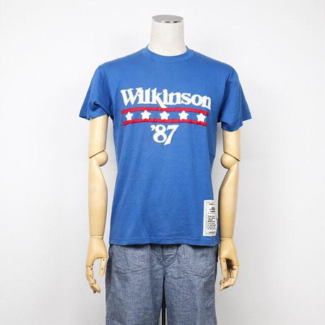 ドッツ ウェア デザイン/Dots wear design アメリカ製古着をリメークTシャツ刺繍 C  未使用