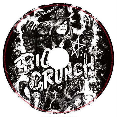 "2nd ALBUM:BIG CRUNCH 002 ■BONUS TRACK:TAKAMI""Dragons Nighter""+DJWarp""White Bass"""